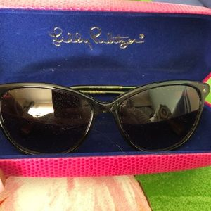 Lilly Pulitzer bamboo sunglasses